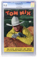 Golden Age (1938-1955):Western, Tom Mix Western #1 (Fawcett, 1948) CGC VF/NM 9.0 Off-white to whitepages....