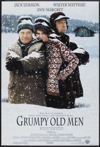 """Grumpy Old Men (Warner Brothers, 1993). One Sheet (27"""" X 40"""") SS. Comedy"""