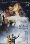 """Movie Posters:Sports, Everybody's All American (Warner Brothers, 1988). One Sheet (27"""" X 40""""). Sports.. ..."""