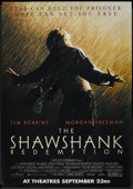 "Movie Posters:Drama, The Shawshank Redemption (Columbia, 1994). Bus Shelter (48"" X 69"")DS Advance. Drama.. ..."