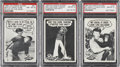 "Non-Sport Cards:Lots, 1965 Topps ""Gilligan's Island"" PSA-Graded Trio (3) - Each atHighest Grade Known...."