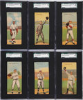 Baseball Cards:Sets, 1911 T201 Mecca Double Folders Partial Set (22/50). ...