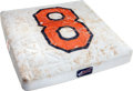 Baseball Collectibles:Others, 2001 Cal Ripken, Jr. Tribute Game Used Base....