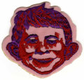 Memorabilia:MAD, Mad Magazine's Alfred E. Neuman Cloth Patch (undated)....