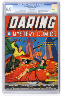 Daring Mystery Comics #1 (Timely, 1940) CGC FN 6.0 Off-white pages