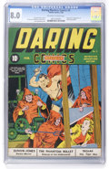 Golden Age (1938-1955):Superhero, Daring Mystery Comics #2 (Timely, 1940) CGC VF 8.0 Off-white to white pages....