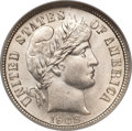 Barber Dimes, 1908 10C MS67 NGC....