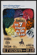 "Movie Posters:Fantasy, The 7 Faces of Dr. Lao (MGM, 1964). Belgian (14"" X 21.5"").Fantasy.. ..."