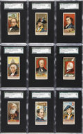 "Non-Sport Cards:Sets, 1888 N76 Duke ""Great Americans"" SGC-Graded Complete Set (50)...."