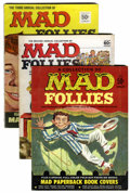 Magazines:Mad, Mad Follies Group (EC, 1963-69) Condition: Average VG/FN....(Total: 7 Comic Books)