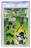 Bronze Age (1970-1979):Superhero, Green Lantern #76 (DC, 1970) CGC VF/NM 9.0 Off-white pages....