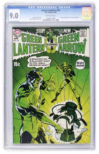 Green Lantern #76 (DC, 1970) CGC VF/NM 9.0 Off-white pages