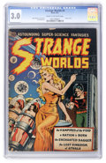 Golden Age (1938-1955):Science Fiction, Strange Worlds #4 (Avon, 1951) CGC GD/VG 3.0 Cream to off-whitepages....
