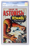 Silver Age (1956-1969):Mystery, Tales to Astonish #19 (Marvel, 1961) CGC VF- 7.5 Off-whitepages....