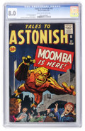 Silver Age (1956-1969):Science Fiction, Tales to Astonish #23 (Marvel, 1961) CGC VF 8.0 Cream to off-whitepages....