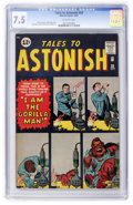 Silver Age (1956-1969):Science Fiction, Tales to Astonish #28 (Marvel, 1962) CGC VF- 7.5 Off-whitepages....