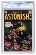 Silver Age (1956-1969):Horror, Tales to Astonish #33 (Marvel, 1962) CGC VF 8.0 Off-white pages....