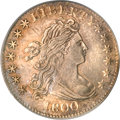 Early Dimes, 1800 10C AU53 PCGS. CAC....
