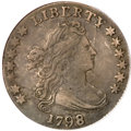 Early Dimes, 1798 10C Large 8 XF40 PCGS....