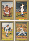 Autographs:Others, 1980's Perez-Steele Greatest Moments Signed Lot of 42....
