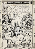 Original Comic Art:Covers, John Byrne and Joe Rubinstein Amazing Adventures #6 X-MenCover Original Art (Marvel, 1980)....