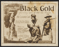 """Black Gold (Norman, 1928). Lobby Card Set of 8 (11"""" X 14""""). Black Films. ... (Total: 8 Items)"""
