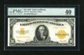 Large Size:Gold Certificates, Fr. 1173 $10 1922 Gold Certificate PMG Extremely Fine 40....