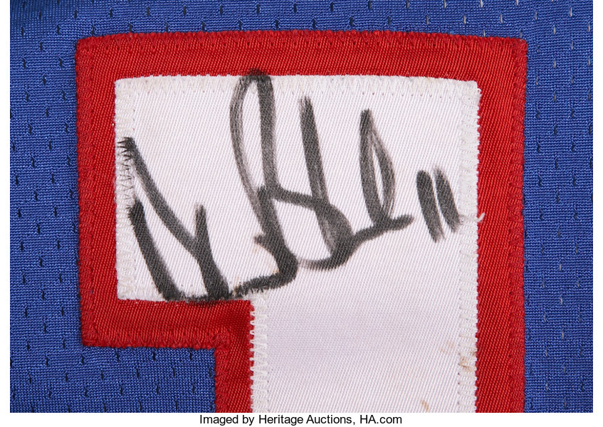 bbd44603155 1994 Drew Bledsoe Game Worn Jersey.... Football Collectibles