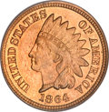 Proof Indian Cents, 1864 1C Bronze No L PR66 Red and Brown PCGS....