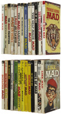 Memorabilia:MAD, Vintage Mad Paperback Book Group (Signet, 1960s) Condition: AverageVG.... (Total: 26 Items)