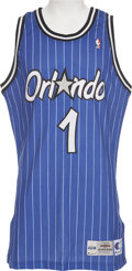 Basketball Collectibles:Uniforms, Penny Hardaway Game Used Rookie Jersey. ...