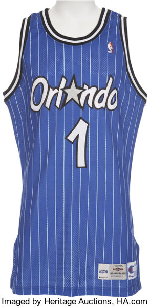 the latest 40dab 79b53 Penny Hardaway Game Used Rookie Jersey. ... Basketball ...