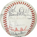 Autographs:Baseballs, Giants Team Signed Baseball. ...
