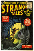 Golden Age (1938-1955):Horror, Strange Tales #41 (Marvel, 1955) Condition: GD/VG....