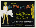 "Movie Posters:Comedy, The Seven Year Itch (20th Century Fox, 1955). Half Sheet (22"" X28""). ..."