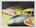 "Movie Posters:Science Fiction, Earth vs. the Flying Saucers (Columbia, 1956). Lobby Card (11"" X14""). ..."