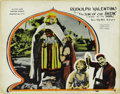 "Movie Posters:Adventure, The Son of the Sheik (United Artists, 1926). Lobby Card (11"" X14""). ..."