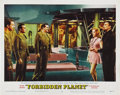 "Movie Posters:Science Fiction, Forbidden Planet (MGM, 1956). Lobby Cards (2) (11"" X 14""). ...(Total: 2 Items)"