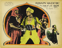 """The Son of the Sheik (United Artists, 1926). Lobby Card (11"""" X 14"""")"""