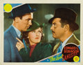 "Movie Posters:Crime, The Last Gangster (MGM, 1937). Lobby Cards (3) (11"" X 14""). ...(Total: 3 Items)"