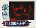 "Movie Posters:Crime, The Big Sleep (Warner Brothers, 1946). Lobby Card #8 (11"" X 14"")...."