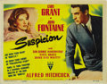 "Movie Posters:Hitchcock, Suspicion (RKO, 1941). Title Lobby Card (11"" X 14"")...."