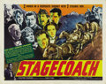 "Movie Posters:Western, Stagecoach (United Artists, 1939). Half Sheet (22"" X 28""). ..."