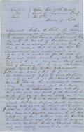 "Autographs:U.S. Presidents, Lincoln Law Partner William Henry Herndon Autograph Document Signed""Joshua W. Short per Lincoln & Herndon & D.A.Brown""..."