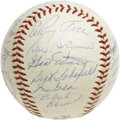 Autographs:Baseballs, 1961 Pittsburgh Pirates Team Signed Baseball. One year removed froma World Series title, the 1961 Pittsburgh Pirates looke...