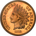Proof Indian Cents, 1872 1C PR66 Red and Brown PCGS....
