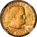 Commemorative Gold, 1922 G$1 Grant no Star MS67 NGC....
