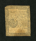 Colonial Notes:Pennsylvania, Pennsylvania April 10, 1777 4d Very Good-Fine....