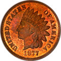 Proof Indian Cents, 1877 1C PR66 Red and Brown PCGS....