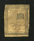 Colonial Notes:Pennsylvania, Pennsylvania April 25, 1776 2s/6d Very Good....